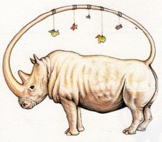 Codex Seraphinianus-rino mobile