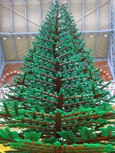 A sweet Lego Christmas tree for my Lego loving niece... Brinley  ; )