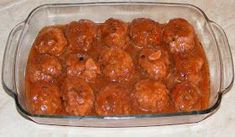 Meatballs with sauce - Chiftelute de porc in sos marinat Meatball Sauce, Deserts, Appetizers, Food And Drink, Tasty, Cooking, Ethnic Recipes, Martha Stewart, Main Courses