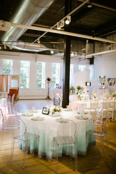 dip-dyed wedding, photo by Our Love is Loud http://ruffledblog.com/notwedding-denver #weddingideas #reception #tables