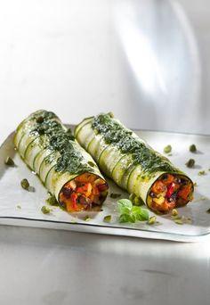 Vegane Zucchiniloni: So einfach, lecker und vegan! Rezept auf www.gofeminin.de #vegan