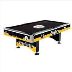 #Pittsburgh #Steelers Pool Table