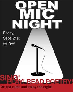 Holy Innocents' Episcopal School ~ Open Mic Night