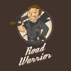 Mad Max / Fallout: Vault Boy mashup t-shirt.