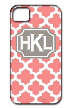 Website full of personalized, fun items. How fun are these phone cases?!