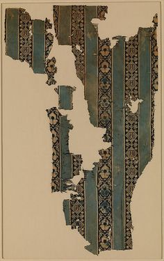 Textile Fragment Object Name: Fragment Date: 14th century Geography: Egypt Culture: Islamic Medium: Silk; double weave Accession Number: 1979.462.2