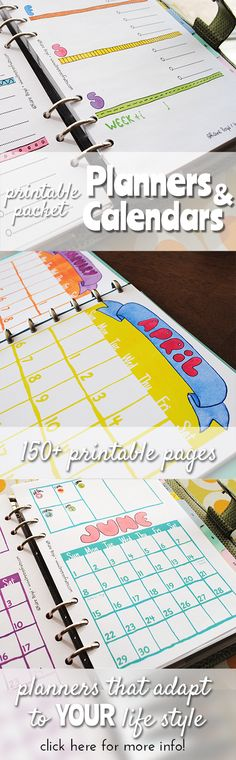 2015 Planner Printables :: printables for you to choose from! 2015 Planner, To Do Planner, Home Planner, School Planner, Planner Pages, Printable Planner, Planner Organization, School Organization, Home Binder
