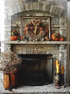 Mantel Decorations / IDEAS & INSPIRATIONS : Beautiful and Luxury Mantels Decorating for Spring - CotCozy