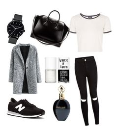 """Без названия #2"" by kseniya-vikhireva on Polyvore featuring мода, New Balance, Topshop, Givenchy, The Horse, Roberto Cavalli и Uslu Airlines"