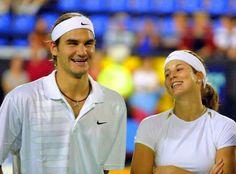Roger and Mirka 2002 Roger Federer Family, Mirka Federer, Kim Clijsters, Mr Perfect, Tokyo 2020, Living Legends, Olympics, Hot Guys, Tennis