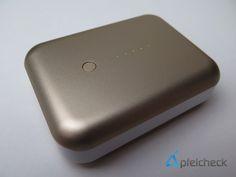 nice Review: Just Mobile Gum++ Deluxe - Hochwertiger USB-Akku aus Aluminium mit Lightning-Kabel und Leder-Tasche