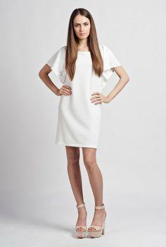 Kleid mit Volants von Lanti auf DaWanda.com