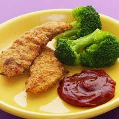 Almond-Crusted Chicken Fingers - EatingWell.com