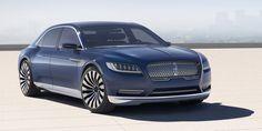 Call it a Comeback: Lincoln Continental arrives in 2016  - RoadandTrack.com