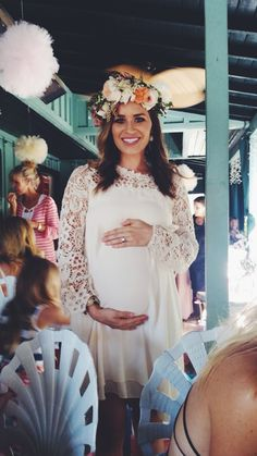 Tessa Rayanne- garden tea party joint baby shower