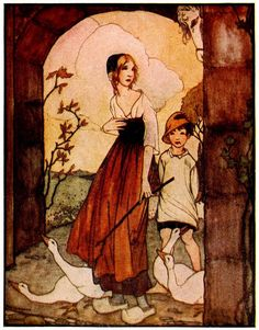 Art by Rie Cramer (1922) from Grimm's Fairy Tales