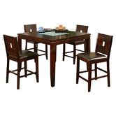 Found it at Wayfair - Lakeport 5 Piece Counter Height Dining Set