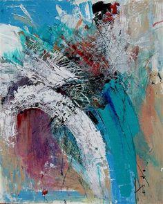 mixed media artwork | Waterfall | Ugallery Online Art Gallery