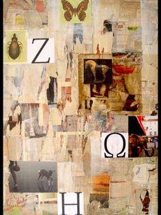 "Saatchi Art Artist Natalia Kaza; Collage, ""How we see animals"" #art"