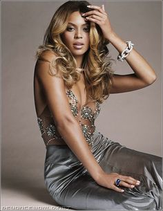 Queen B...not sure if I love her, or just her hair!