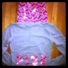 Selling this VS PINK BLING GRAY PINK CHEVRON SEQUIN HOODIE S in my Poshmark closet! My username is: cmccullough9. #shopmycloset #poshmark #fashion #shopping #style #forsale #PINK Victoria's Secret #Jackets