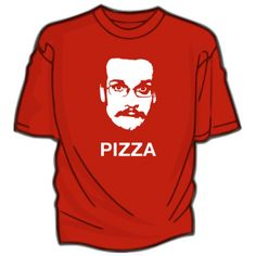 Pizza John shirt off DFTBA.com #johngreen #vlogbrothers