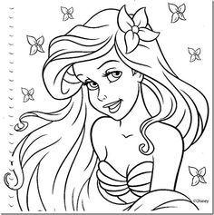 17 Desenhos Das Princesas Disney Para Colorir Ou Pintar CartoonsColoring SheetsLorraineFrozenBarbiePaint