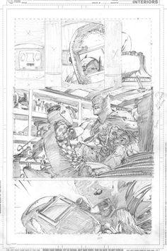Batman Pencils by Greg Capullo
