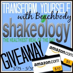Enter to Win 7 Days of Shakeology and a $15 Amazon Gift Card!