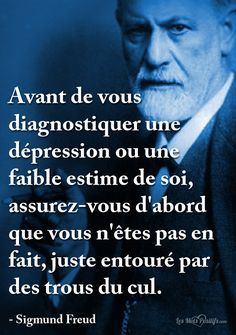 Discover recipes, home ideas, style inspiration and other ideas to try. Sigmund Freud, Life Quotes Love, True Quotes, Motivational Quotes, Positive Attitude, Positive Thoughts, Image Positive, Citations Blog, Positiv Quotes