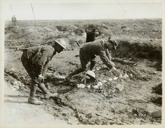 Chin Na & Monica (Sec 3): Canadian soldiers Tending to a Grave.