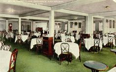 Frederick and Nelson's Tea Room - circa 1913. I used to enjoy going there closer to the 1980s/1990s (before it closed) for Frango Mint Milkshakes!