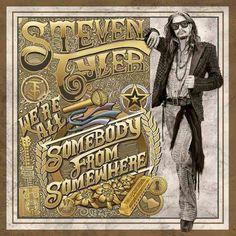 Steven Tyler - We're All Somebody From Somewhere, White