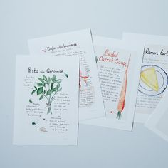 cute idea for shoreline recipes. Your Own Recipe Converted to a Custom Watercolor Painting by Emiko Davies on Provisions by Watercolor Illustration, Watercolor Paintings, Girl Power Tattoo, Watercolor Projects, Watercolor Ideas, Food Illustrations, Homemade Gifts, Art Lessons, Bond