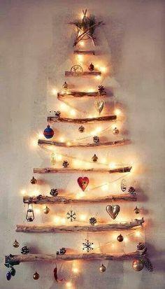Un sapin de Noël vraiment original et beau!