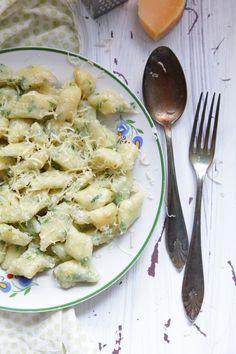 pod-zielonym-niebem: Jaglane gnocchi z bazylią