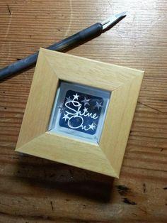 'Shine On' - Miniature Original Papercut