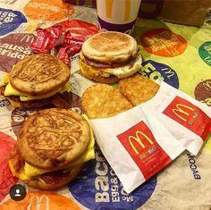Mcdonalds Breakfast, Best Breakfast, Breakfast Recipes, Snack Recipes, Dessert Recipes, Cooking Recipes, Breakfast Ideas, Healthy Junk Food, Junk Food Snacks