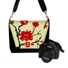 Digital Slr Camera Bag DSLR Camera Bag Purse by janinekingdesigns, $84.99
