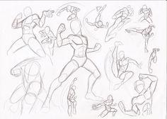 Male poses - fighting by RikuGloomy.deviantart.com on @DeviantArt