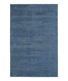 Loving this Blue Wool-Blend Luminary Area Rug on #zulily! #zulilyfinds