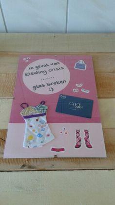 Cadeautje voor shop-aholic # geld cadeau voor meiden