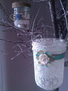 ~Christle's Creations~ Lovely Lantern tea candles~