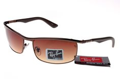 296efc69a96 Cheap Ray Ban Active Lifestyle Sunglasses Deep Brown Frame Brown Lens Outlet  For You!