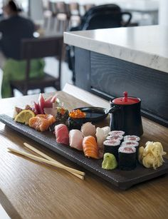 Some of the best sushi you will find in NYC.