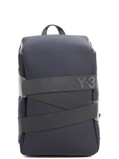 Backpack In Black Backpack Travel Bag, Small Backpack, Fashion Backpack, Y3 Bag, Fashion Handbags, Fashion Bags, Backpack Essentials, Designer Inspired Handbags, Commuter Bag