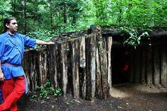 Cherokee North Carolina - Oconaluftee Indian Village