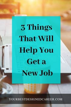 If you implement these 3 things, it won't be long before you are starting your new job! Cv Tips, Resume Tips, Resume Examples, Build A Resume, Finding A New Job, Resume Objective, Student Resume, Microsoft Word, Career Advice