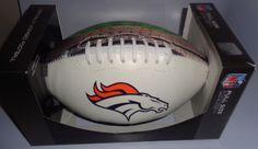 Denver Broncos Full Size Football fd1a2f336