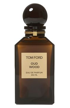 Classic Oud: Tom Ford Oud Wood is incredibly rich and smokey, yet creamy and smooth. Exotic rose wood, cardamom, and Chinese pepper give warmth, while tonka bean, vanilla and amber give the spellbinding Oud its mellowsilage. (212 872 2813)